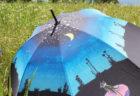 晴雨兼用傘  -三日月森の猫-